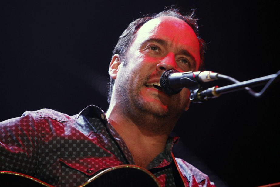 Dave Matthews du Dave Matthews Band.... (Photo: archives AP)