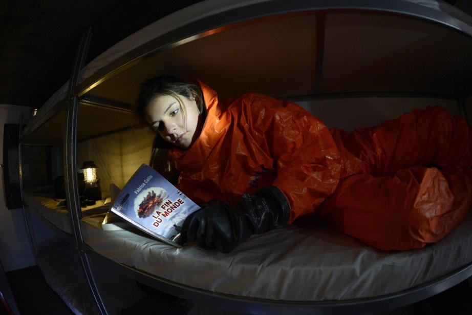 L'abri anti-atomique permet de  «protéger ses occupants... (Photo: AFP)