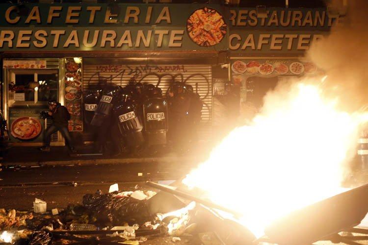Au total 118 personnes ont été interpellées et... (Photo: Reuters)