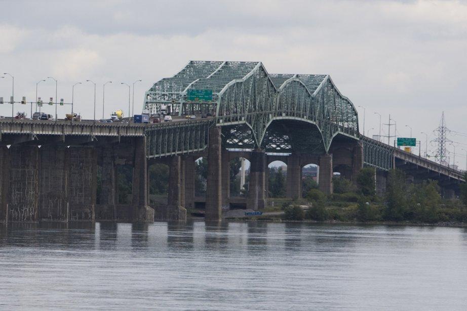 Le nouveau pont Champlain pourrait être plus... (Photo archives La Presse)