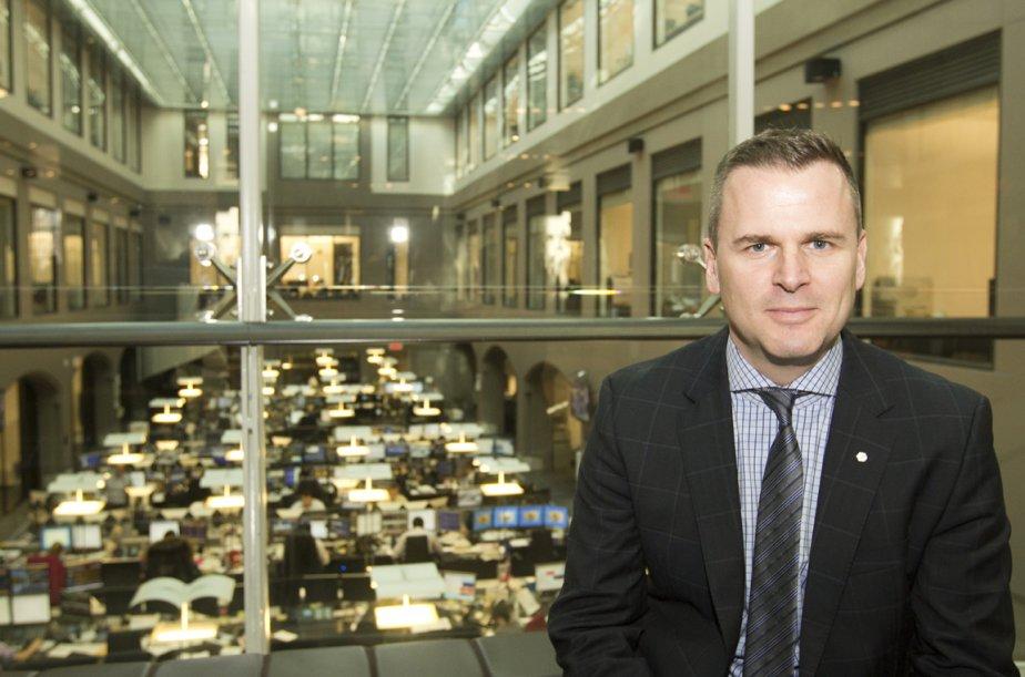 Laurent Blanchard, directeur général de Disnat.... (Photo Ninon Pednault, La Presse)