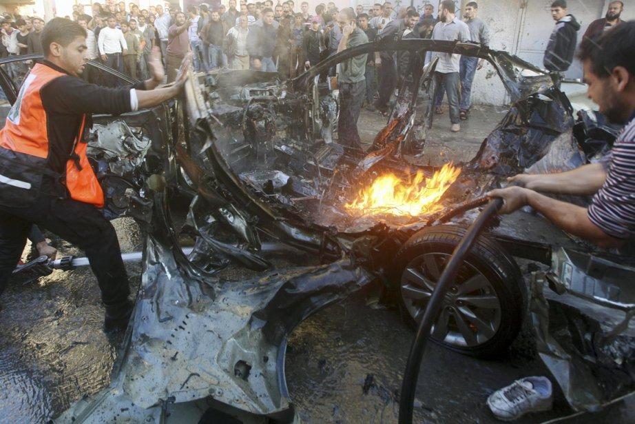 Le chef du bras armé du Hamas, les... (PHOTO REUTERS)