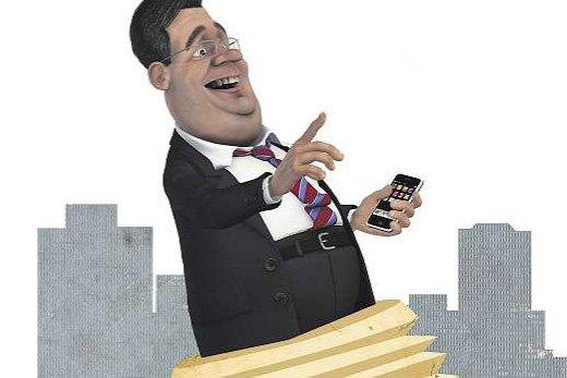 «Les politiciens passent, les caricaturistes... (Illustration: Maha Rabiyi)