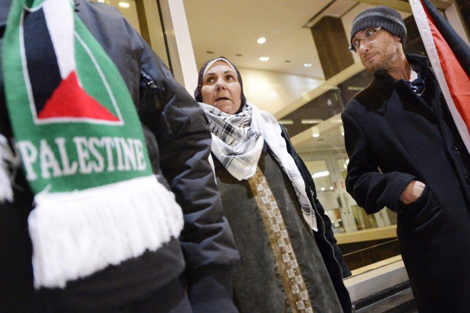 La mobilisation pro-palestinienne ne fait que commencer, selon... (PHOTO BERNARD BRAULT, LA PRESSE)