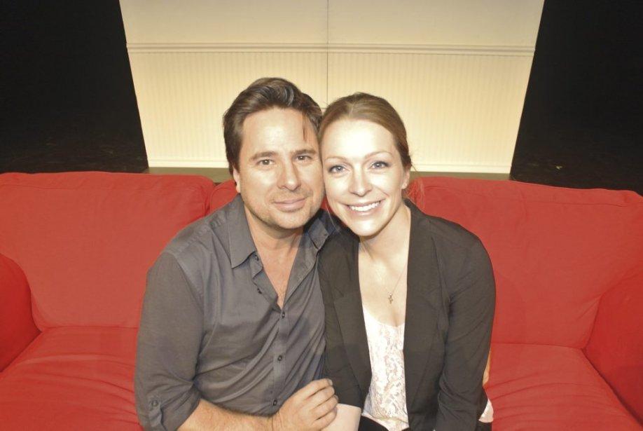 Stéphane E. Roy et Annie Villeneuve encore en répétition quelques heures avant de monter sur scène. | 15 novembre 2012