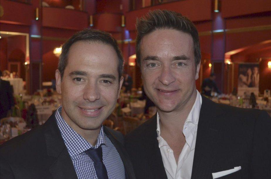 Les Grandes Gueules ont encore une fois diverti leur public mardi soir en animant la  Soirée des célébrités. | 15 novembre 2012