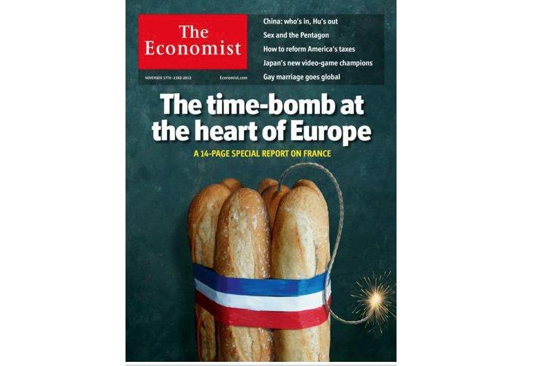 C'est ce qu'affirme The Economist en couverture de son édition du 17 novembre .