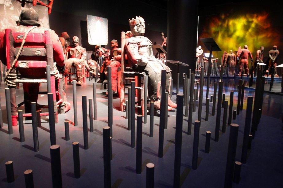 Dans le culte du vodou, les miroirs sont associés au monde des esprits, appelés les lwa. L?exposition est présentée au Musée canadien des civilisations jusqu?en février 2014. | 15 novembre 2012