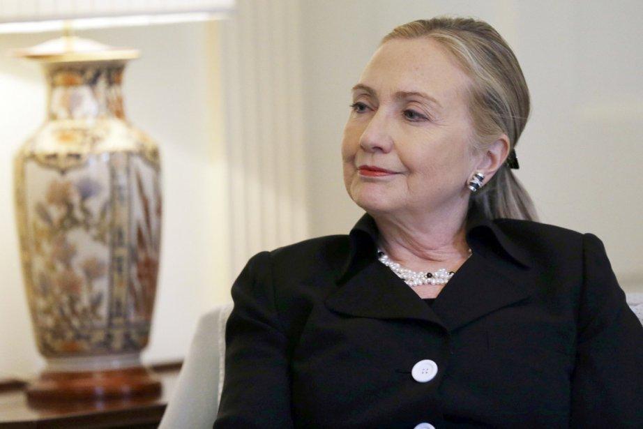 La chef de la diplomatie américaine avait déclaré... (PHOTO AFP)