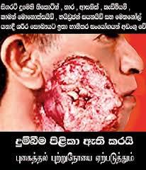 Depuis 2012, 80% de la superficie des paquets de cigarettes sri-lankais est occupée par des mises en en garde. Celles-ci sont rédigées en cingalais, en tamoul et en anglais. En réponse à une contestation judiciaire de la Ceylon Tobacco Company, le ministère de la Santé du pays a décidé de suspendre jusqu?en 2013 l?obligation d?afficher des avertissements sur les paquets de cigarettes. | 15 novembre 2012