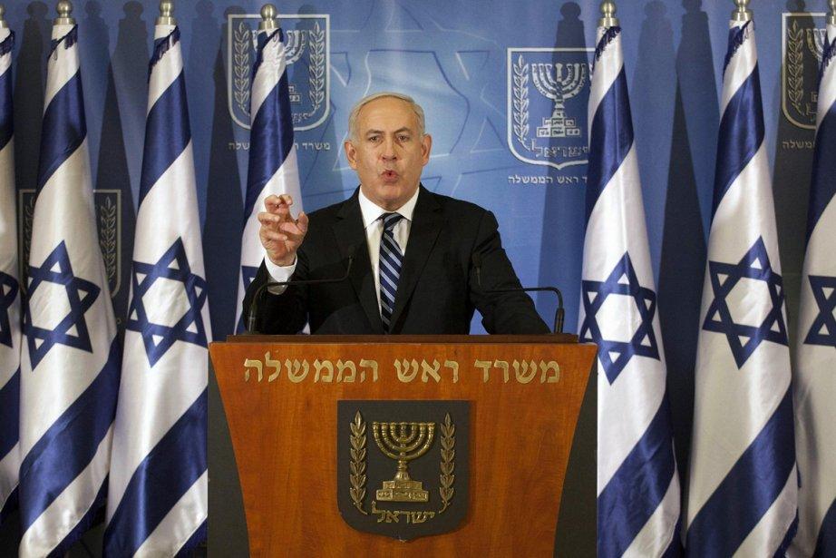 Le premier ministre Benjamin Netanyahou....