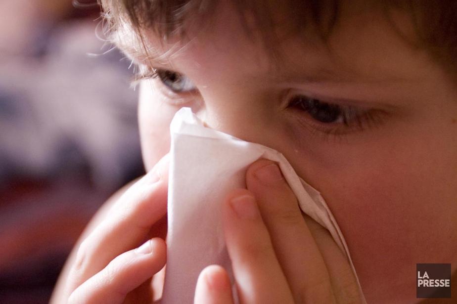 Le virus a touché au moins 130 enfants... (Archives La Presse)
