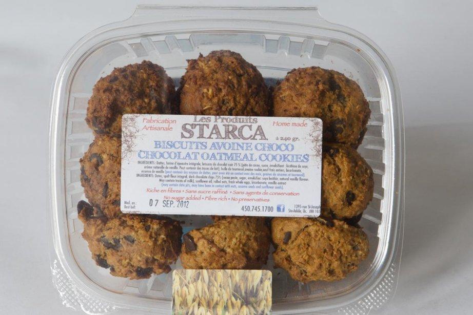 Les biscuits Starca avoine-choco... (Photo La Presse)