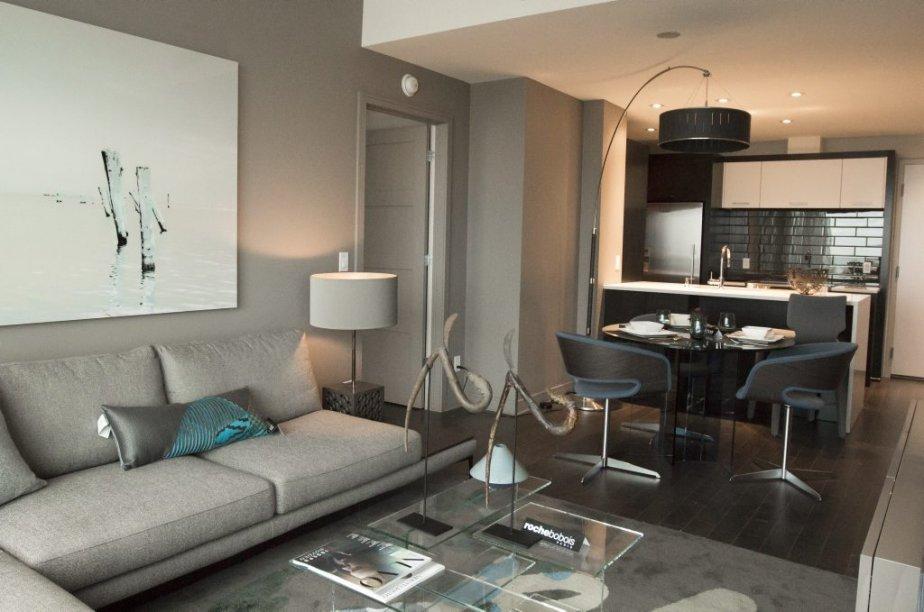 Appartement-témoin de 825 pieds2. | 16 novembre 2012
