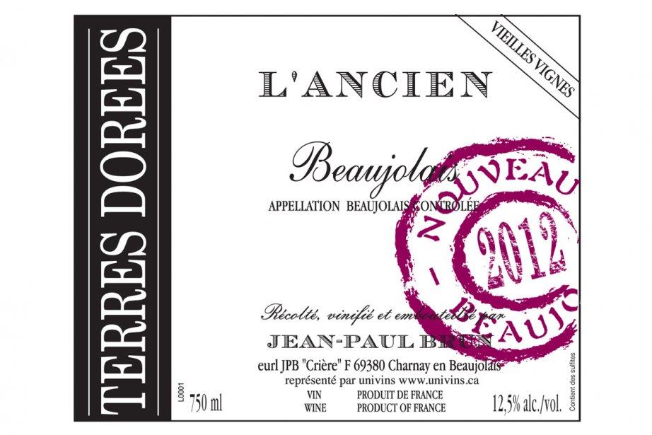 Le beaujolais nouveau L'Ancien....