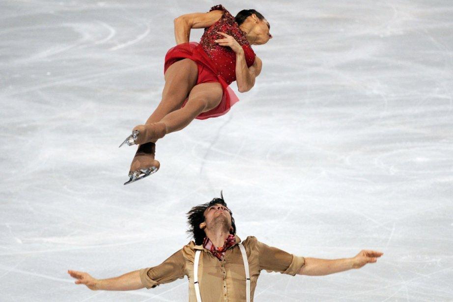 Meagan Duhamel et Eric Radford... (Photo: AFP)