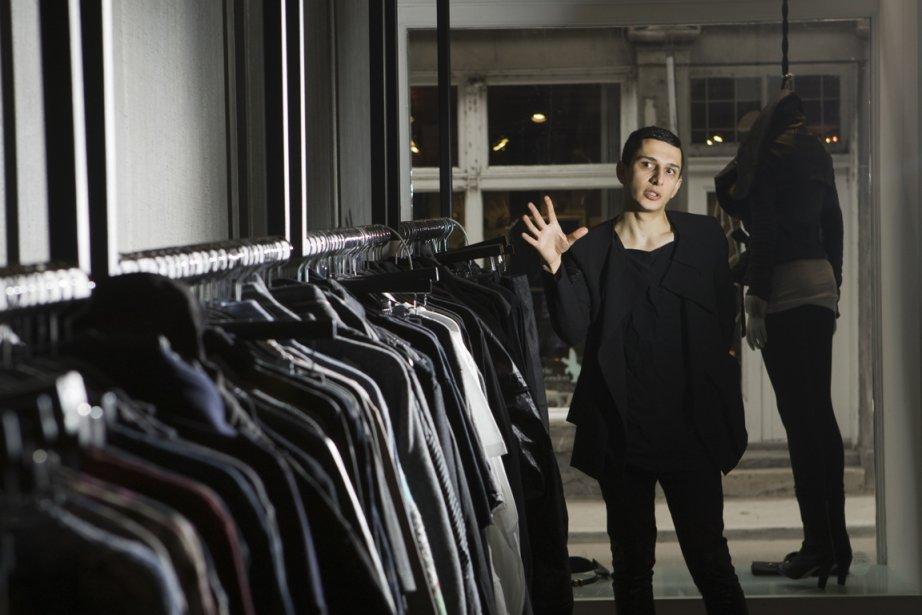 Le designer montréalaisRad Hourani... (Photo d'archives Martin Chamberland, La Presse)