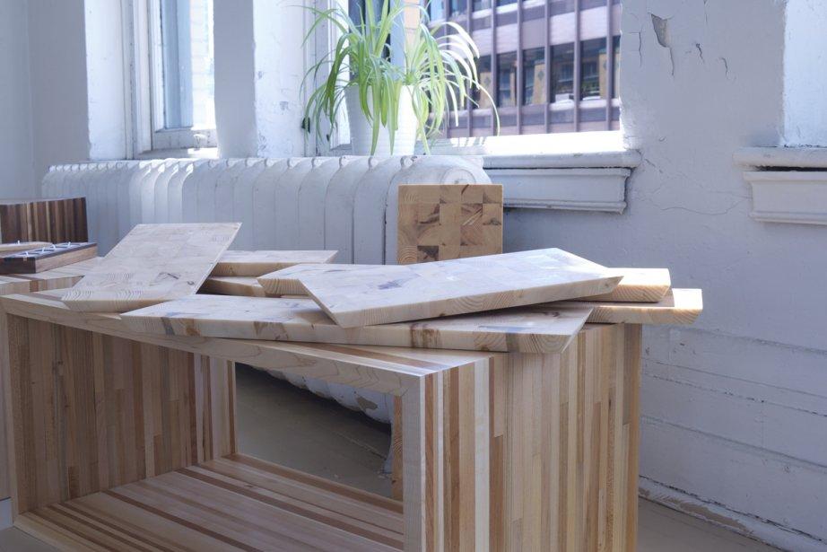 Boîtes de rangement et planches à découper.... (Photo fournie par Bois Debout)