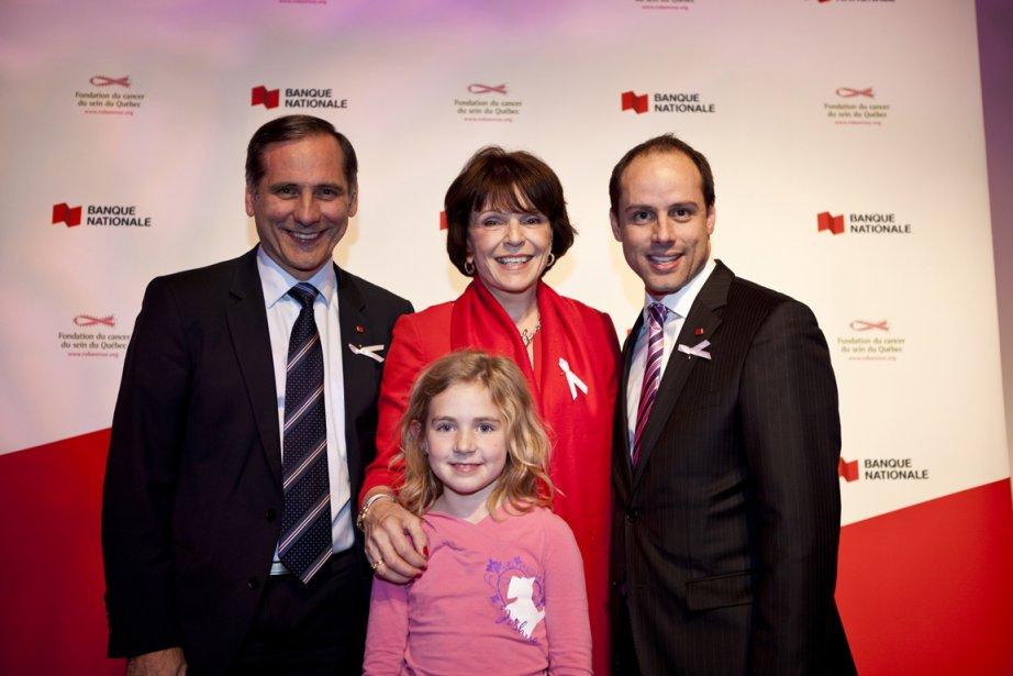 Francine Cléroux, Richard Hébert et Yann Jodoin, avec... (PHOTO LA PRESSE)
