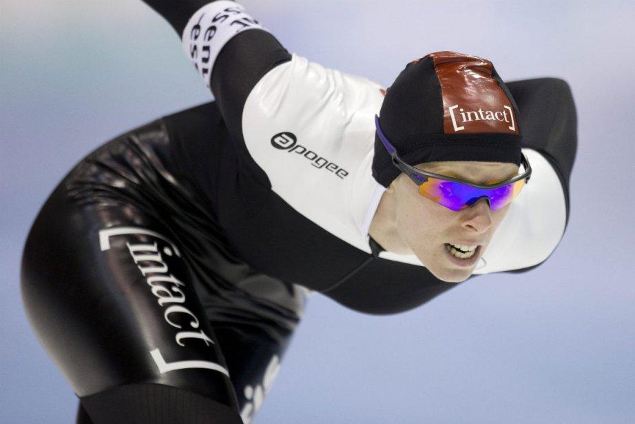 Christine Nesbitt a fait partie de la combinaison... (Photo Peter Dejong, Associated Press)