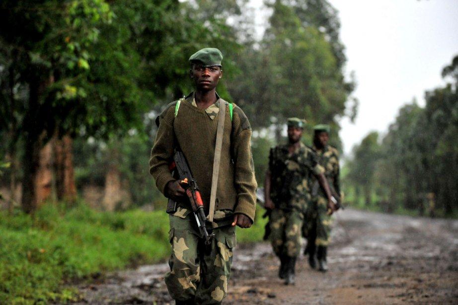 Des rebelles du M23.... (PHOTO JUNIOR D. KANNAH, ARCHIVES AFP)