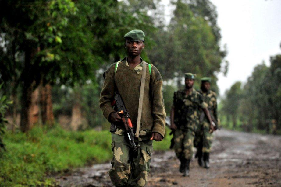 Des rebelles du M23.... (Photo Junior D. Kannah, Agence France-Presse)