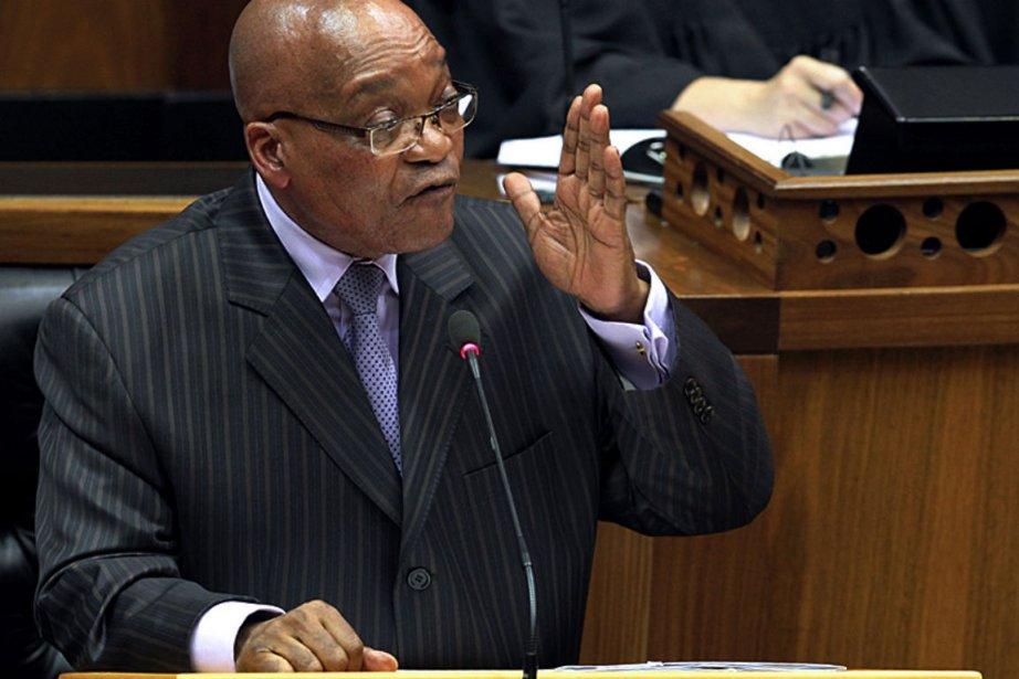 Le président sud-africain Jacob Zuma.... (Photo Agence France-Presse)
