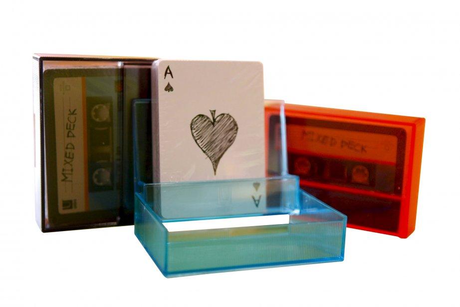 Jeu de cartes cassette, 6,95 $ chez Le Paillasson, 1298,... | 2012-11-18 00:00:00.000