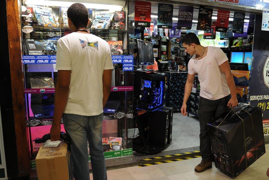 De plus en plus de produits de consommation... (Photo AFP)