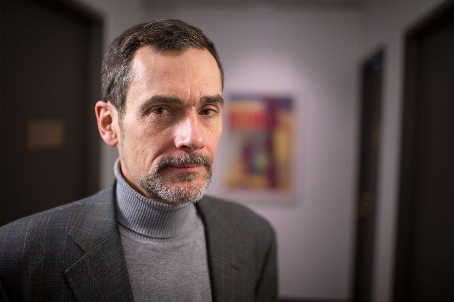 Jean Matuszewski, président d'E&B Data exploration minière.... (PHOTO OLIVIER PONTBRIAND, LA PRESSE)
