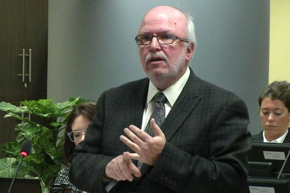 L'avocat de Raynald Desjardins, Me Marc Labelle.... (Photo: tirée d'une vidéo)