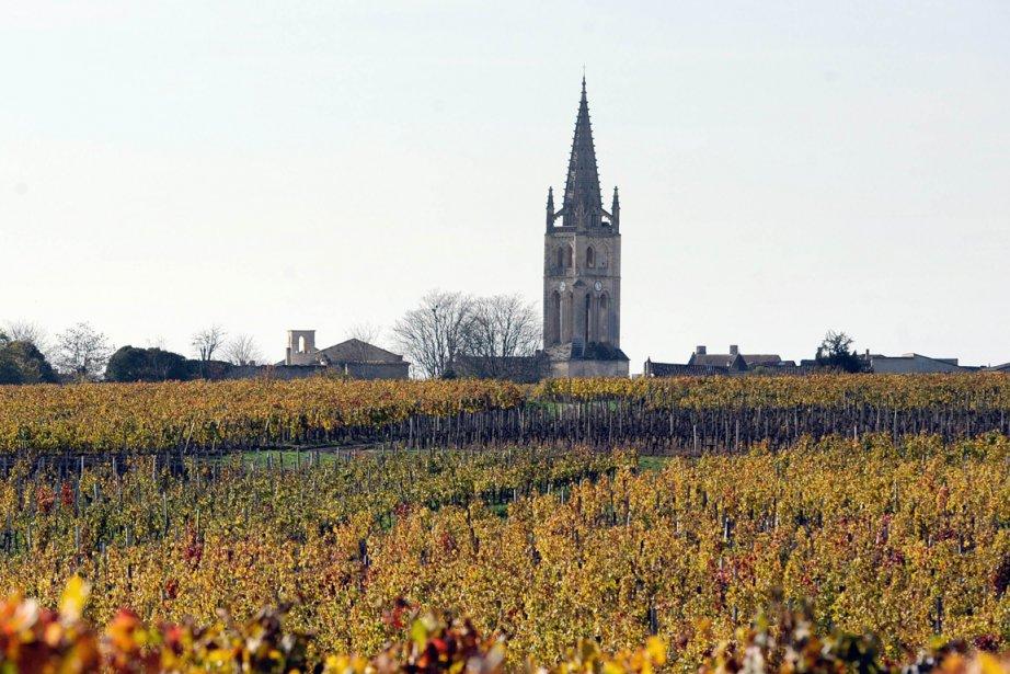 Le village deSaint-Émilion.... (Photo AFP)