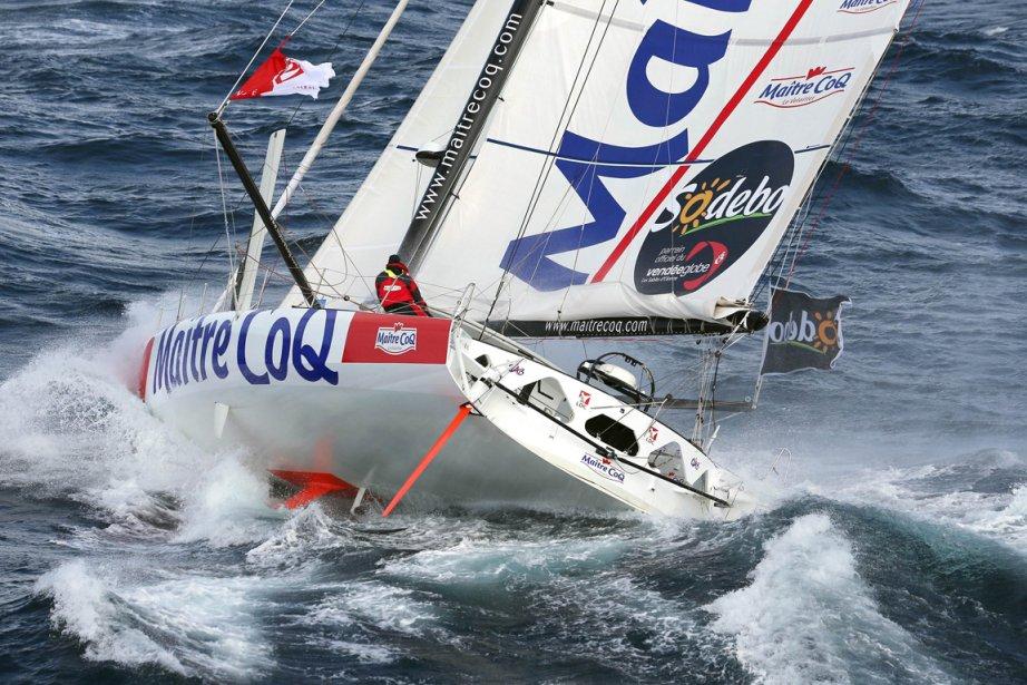 Jérémie Beyou était sixième au classement du Vendée... (Photo: AFP)