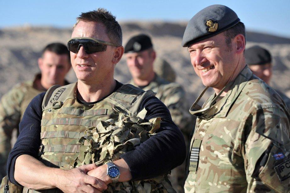 Daniel Craig a rendu dimanche une  ... (Photo: Reuters)