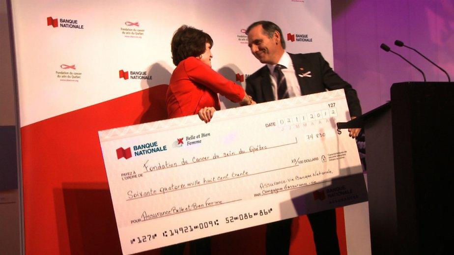 Francine Cléroux, présidente directrice-générale de la  Fondation...