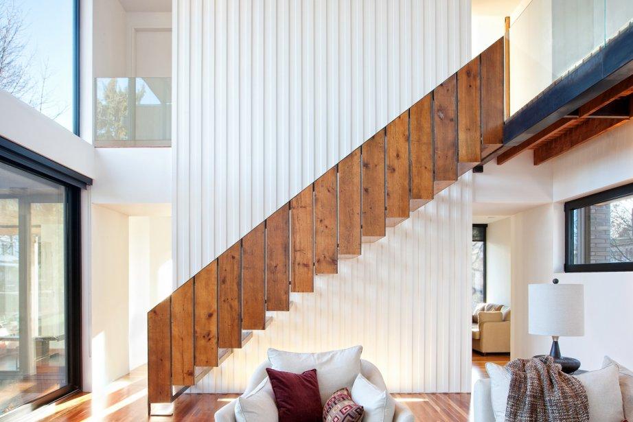 Un escalier peut, à lui seul, meubler un... (Photo fournie par OSA Images)