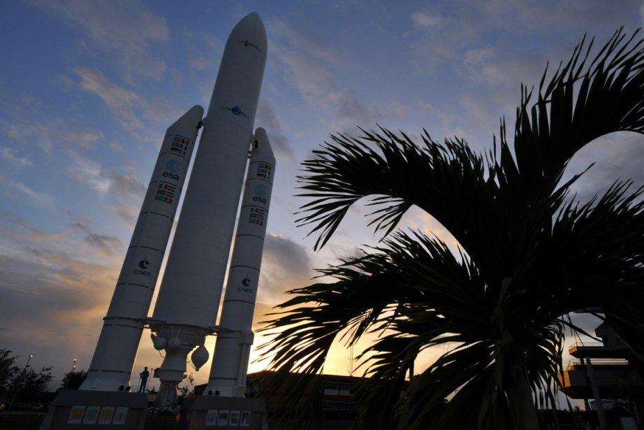 Une fusée Ariane 5.... (Photo archives AFP)