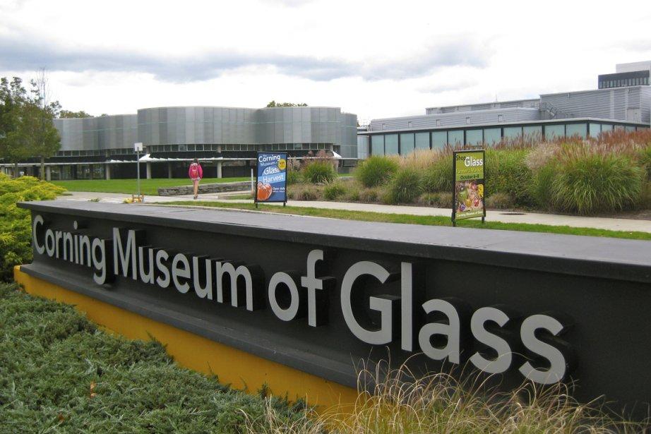 Le Corning Museum of Glass possède une collection... (Photo Michel Laliberté, collaboration spéciale)
