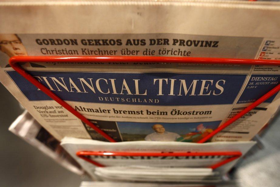 Le quotidien économique en allemand Financial Times... (Photo: Reuters)