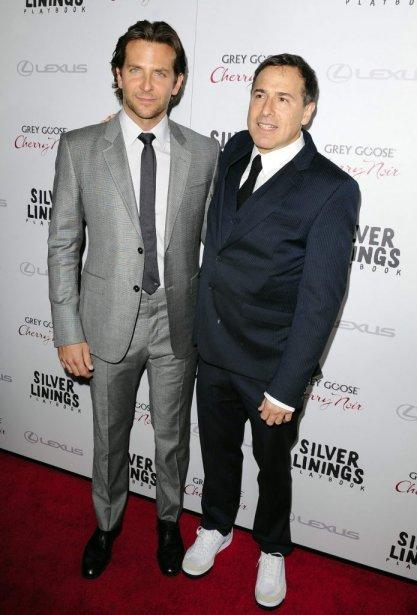 Bradley Cooper et le réalisateur David O. Russell | 20 novembre 2012