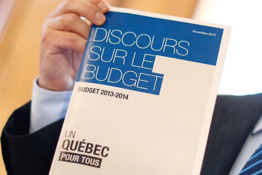 Voici les points saillants du budget 2013-2014 déposé mardi par le ministre des...