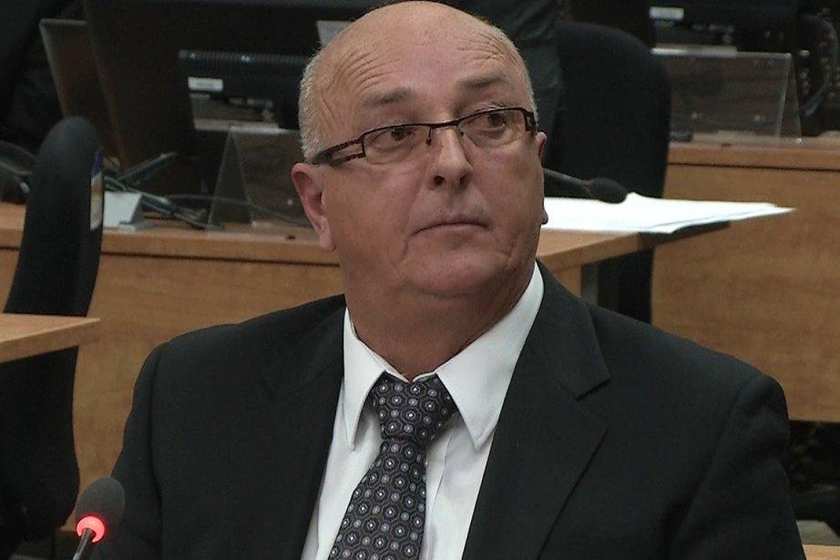 André Durocher... (Image vidéo)