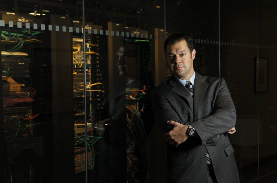 Jean-Claude Ouellet de Cisco Canada... (Photo Martin Chamberland, La Presse)