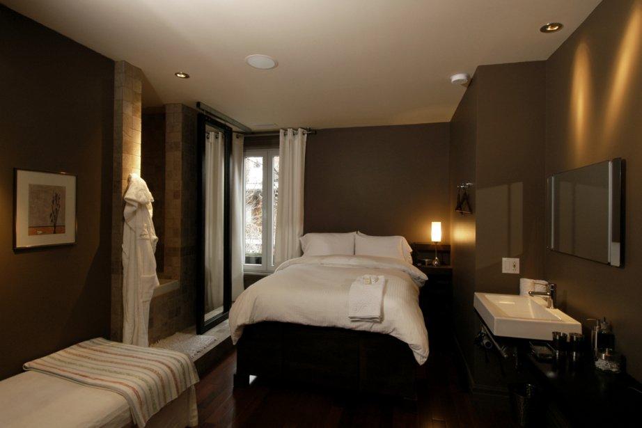 Une chambre du Sir Montcalm.... (Photo fournie par le Sir Montcalm)