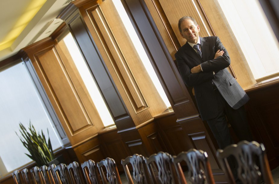 André Roy, associé directeur du bureau de Montréal,... (Photo Ivanoh Demers, La Presse)