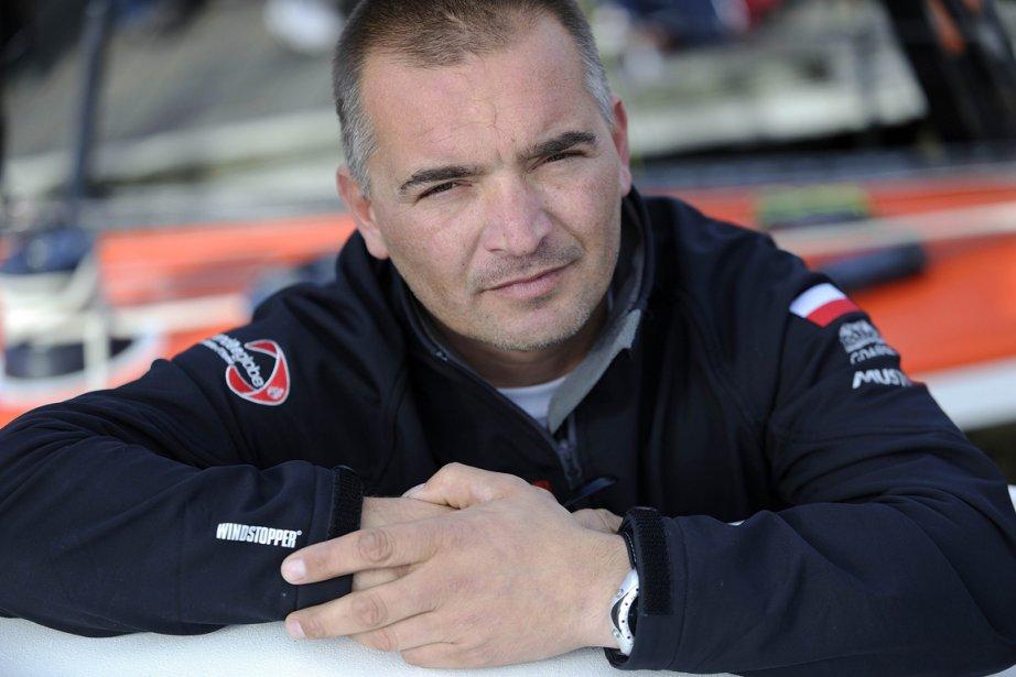 Le navigateur polonais Zbigniew Gutkowski.... (Photo: AFP)