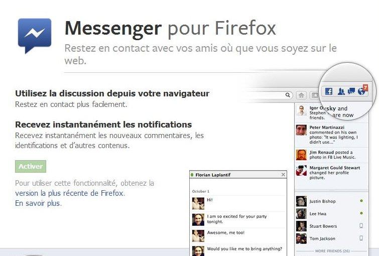 La nouvelle version de Firefox offre la possibilité d'intégrer directement dans...