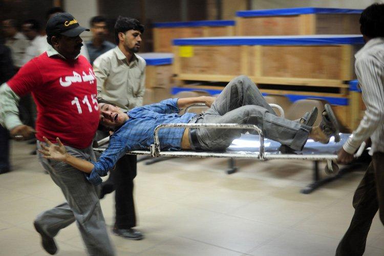 Cet attentat a été commis à la veille... (Photo: AFP)