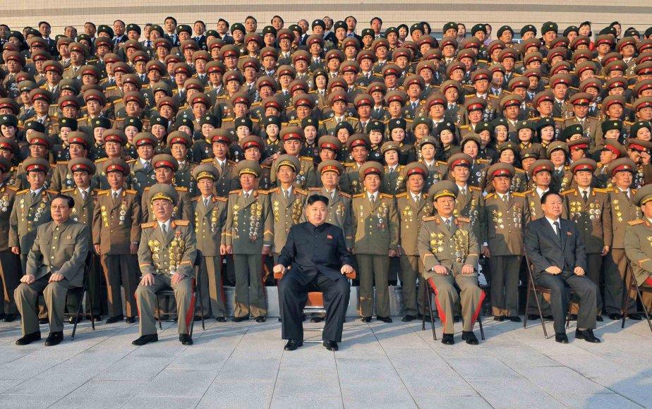 La Corée du Nord a menacé jeudi de répéter son attaque à l'obus... (Photo AFP)