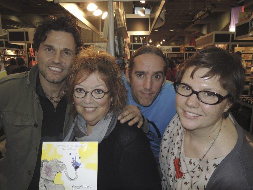 Martin Léon a collaboré au CD qui accompagne le livre pour enfants Cabrioles et ritournelles de Francine Allard (illustrations Josée Bisaillon). (Photo: Herby Moreau, La Presse)